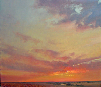 [painting: Color at Dusk by Judith Mackey; copyright 2007. Used with permission, Strecker-Nelson Gallery, Manhattan, KS: All rights reserved.]