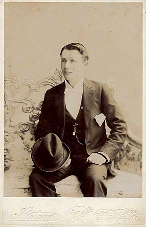 [Photo: Dorothy's father, Eldo