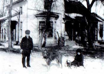 [Photo: Ralph, Dorothy and their dog