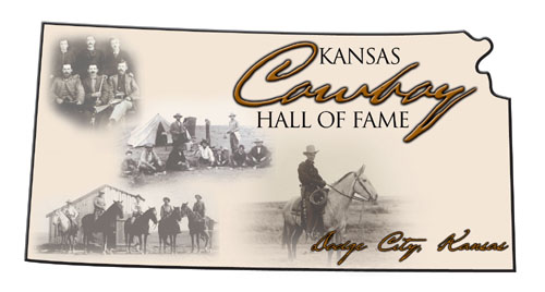[logo: Kansas Cowboy Hall of Fame, Boot Hill Museum, Dodge City, Kansas KS]