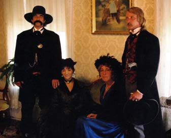 [Photo: 'Wyatt and Josephine Earp' (Terrie