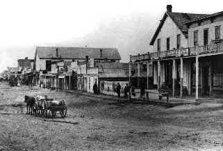 Dodge City. A Famous Cattle Town
