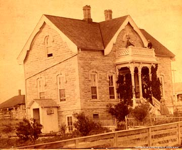 [Photograph: The Mueller-Schmidt House,