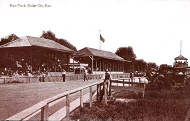 [Photo: Dodge City Race Track on a
