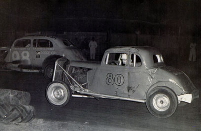 [photograph: 1955 Champion Racer, McCarty Speedway, Wright Park, Dodge City, KS.]